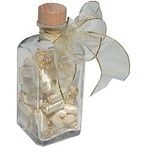 Geldgeschenke Verpackung kreativ und originell (Flasche mit Sprüchen und Zitaten zur Hochzeit & zum Geburtstag...