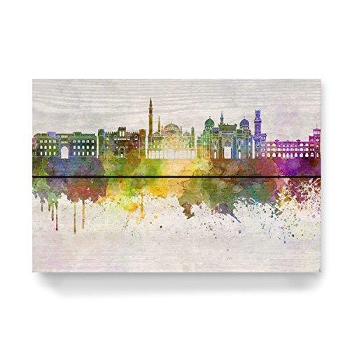 artboxONE Holzbild 30x20 cm Abstrakt