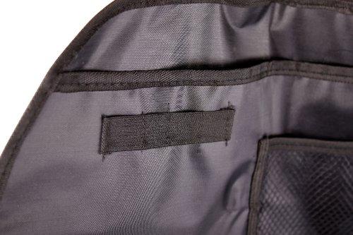 Utensilientasche für Auto - Rücksitz, mit Aufhängevorrichtung und praktischen Taschen / Fächern - ideal für Autofahrten / Reisen