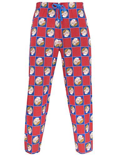 Disney Gruñón pantalones de pijama para Hombre Grumpy Large