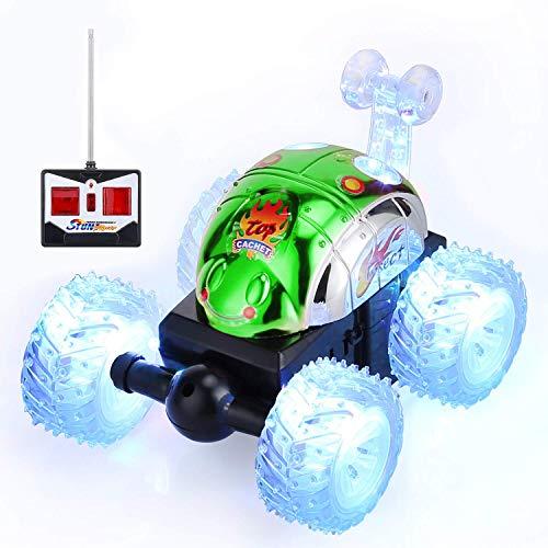 Gopark RC Car 360 ° drehbare Kinder Spielzeugauto, Ferngesteuertes Auto Rennwagen schnelles ferngesteuertes Auto für Kinder , Spielzeug für Jungen und Mädchen Grün