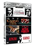 Gangster Collec. (Box 4 Dvd American Gangster, Casino, Nemico Pubblico, Scarf