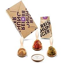 Reishunger Thai Curry Box - Original Zutaten bester Qualität - Für bis zu 4 Personen - Ideal als Geschenk (3er Vorteilspack)