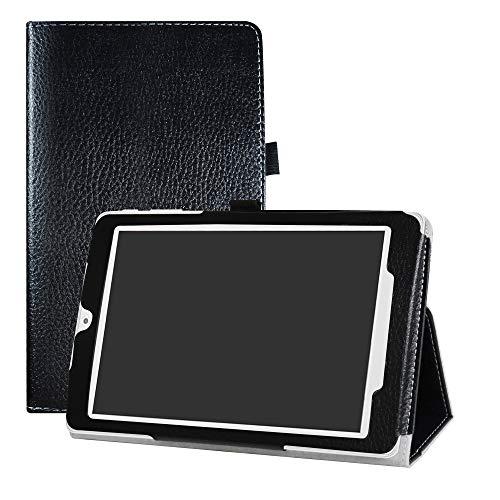 h Pixi 3 8 3G Hülle, Schutzhülle mit Hochwertiges PU Leder Tasche Case für 8