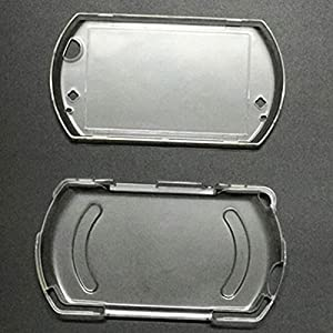 Zhhlinyuan Premium Quality Clear Crystal Skin Case Cover fur PSP Go Protect Hard Guard Shell 2869#