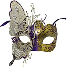 Lovely and Cute Mariposa Metal Lady Masquerade Halloween Mardi Gras misteriosa máscara de fiesta