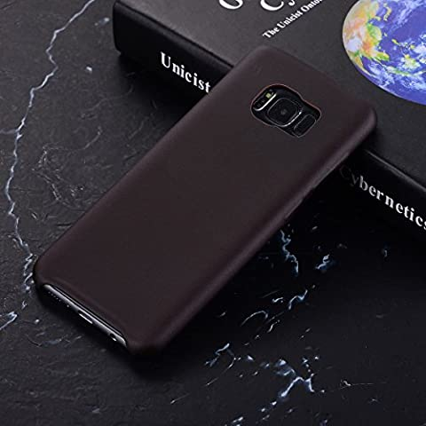 MOONCASE Thermal Hülle Galaxy S8, Farbwechsel Thermo Hitze Induktion Stoßfest Schutzhülle Ultra Slim Flexibel Armor Defender Case Cover für Samsung Galaxy S8 5.8