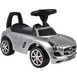 Mercedes Benz SLS AMG Rutschauto Silber