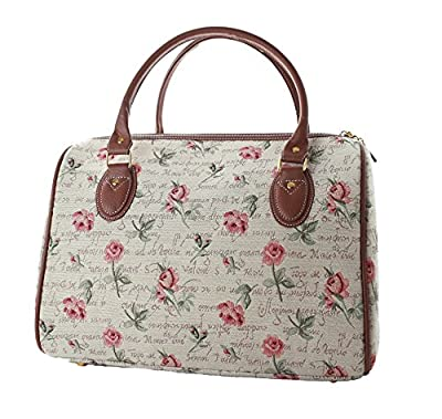 ladies travel bag/weekend bag/gym bag/cabin approved hand luggage Pink Rose