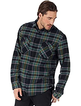 Burton Mb Brighton Ls Wvn -Fall 2018-(14053106001) - True Black Balsam - S