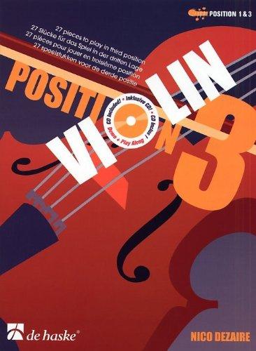 Download Nico Dezaire: Position 3 - Violin (Book And CD