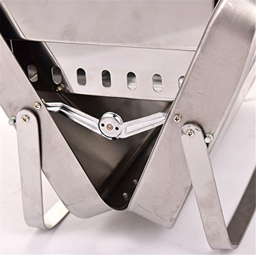 CLODY New Barbecue Stove Portable Outdoor Grill Thick Stainless Steel Charcoal Barbecue