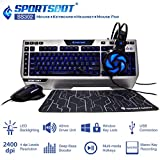 #7: SportsBot SS302 4-in-1 LED Gaming Kit