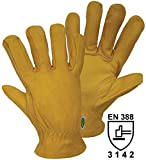 FerdyF Narbenleder Montagehandschuh Größe (Handschuhe): 7, S EN 388 Cat II Conductor 1610 1St.