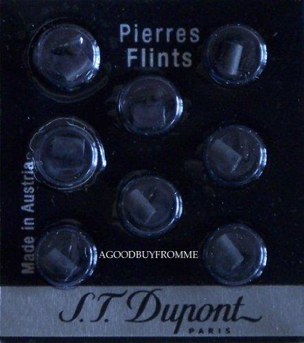 st-dupont-black-lighter-flints-sealed-packet-of-8