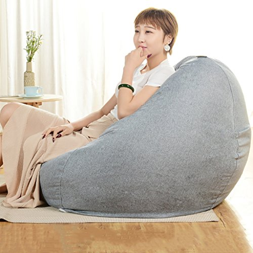 LIANGJUN Puff Sofá Lazy Couch Lavable Sala Leyendo Cuarto, 6 Colores,