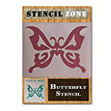 Schmetterling Mylar-Airbrush Malerei Art Wand Schablone 2 A1 Size Stencil - Xlarge