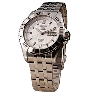 Seiko Analog Silver Dial Men's Watch - SNZH73K1