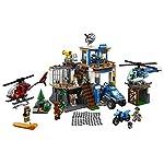LEGO-City-Police-Quartier-Generale-della-Polizia-di-Montagna-60174