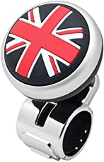 Auto Hub Stylish Car Steering Knob - Red