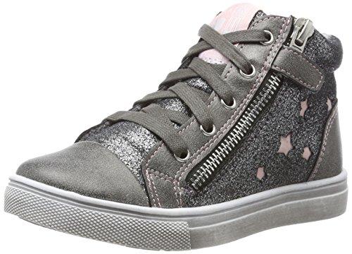 Indigo Mädchen 462 162 Hohe Sneaker, Grau (Dk. Grey), 29 EU