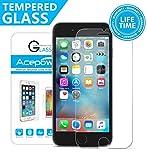 iPhone 6S Protection écran , ACEPower® Compatible fonction 3D Touch Film Protection en Verre trempé écran protecteur ultra résistant Glass Screen Protector pour iPhone 6/6S