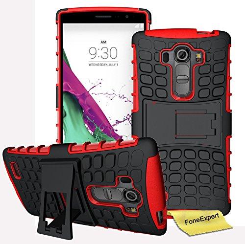 LG G4S / LG G4 Beat Handy Tasche, FoneExpert® Hülle Abdeckung Cover schutzhülle Tough Strong Rugged Shock Proof Heavy Duty Case für LG G4S / LG G4 Beat + Displayschutzfolie