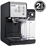 Breville vcf108X 01-Cafetera, Plata y Negro