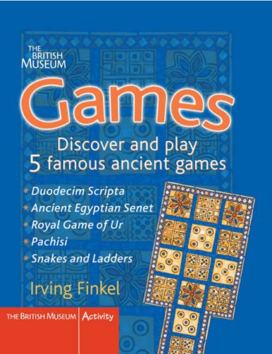 Games: Fold Out the Boards and Play 5 Famous Ancient Games: Discover and Play 5 Famous Ancient Games (British Museum Activity Books) (Museum Board)