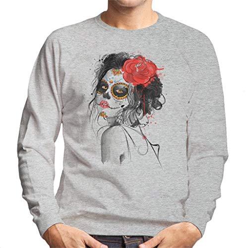 Cloud City 7 Dia De Los Muertos Day of The Dead Men's Sweatshirt