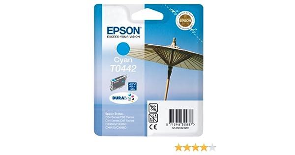 wisch- und wasserfeste Tinte Singlepack Epson T0444 Sonnenschirm gelb