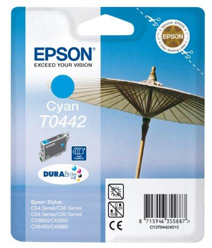 Epson T0442 Cartouche d'encre d'origine Cyan