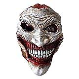 ZYER Maschera Joker,Costume da Clown di Halloween Maschera da Clown in Lattice , Maschera per Cosplay Prop Party Taglia Unica Most