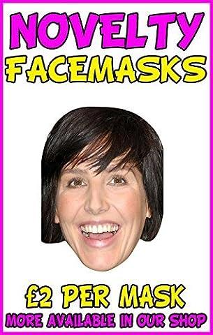 Sharleen Spiteri Texas Novelty Celebrity Face Mask Party Mask Stag Mask
