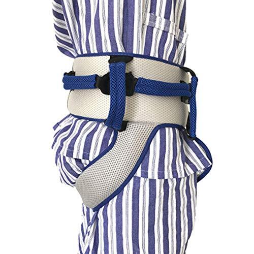 511KOkhCl8L - Cinturón de transferencia con lazos de pierna, seguridad de enfermería médico dispositivo de asistencia de Gait-terapia ocupacional y física para Bariatría, pediátrica, ancianos (azul)