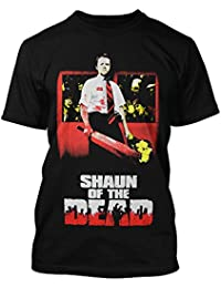 Rock-rebel shaun of the dead t-shirt pour homme