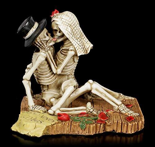 paar Figur - Love Never Dies | Fantasy-Dekofigur, handbemalt, H 9 cm ()