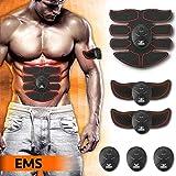 Elettrostimolatore per Addominali EMS Muscoli Scolpiti - Elettrostimolatore Muscolare Professionale per Uomo e Donna -...
