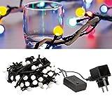 Lunartec Lichterkette Farbwechsel: LED-Lichterkette (RGB) mit Controller, IP44, 9 m, bunt (LED Lichterkette RGB Farbwechsel)