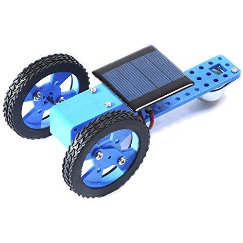 LaDicha DIY 130 Reducer Box Auto Solar Panel Power Set Kleine Montage Spielzeug Kit Für Kinder (Solar-auto-montage-kit)