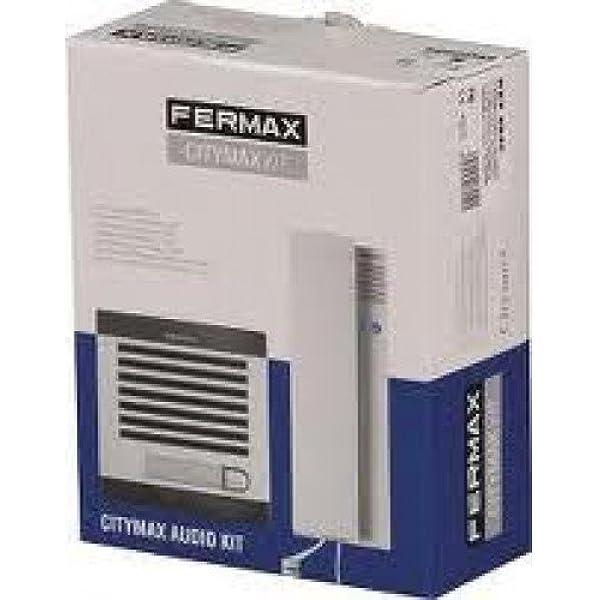 Kit de portero sistema analogico AUDIO CITYMAX 1 Vivienda ...