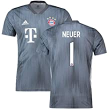 2018-19 Bayern Munich Third Football Soccer T-Shirt Camiseta (Manuel Neuer 1