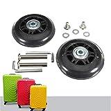 Badass Sharks 2 Paar Gepäck-Koffer Ersatz Wheels Rad Räder Deluxe Reparatur-Set für Gepäck-Koffer OD 50MM