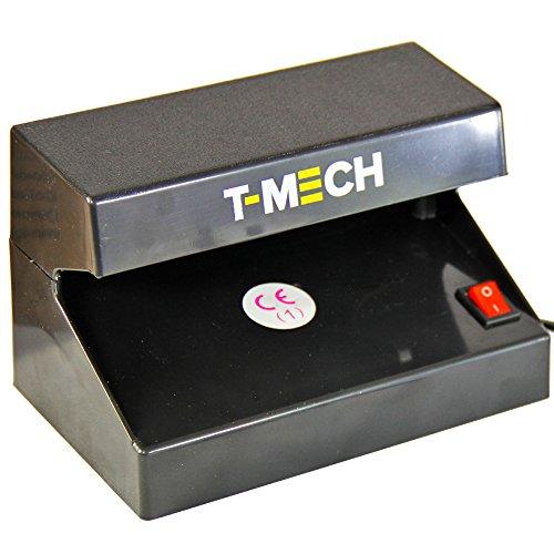 T-Mech - Rilevatore Banconote False Con Luce UV per Tutte le Valute & Penna