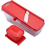 Latest Fruit & Vegetable Compact Dry Fruit, Fruit And Vegetable Cutter Slicer With Holder & Container