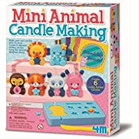 4M - Mini Animal Candle Making: Arte con Pintura (00-04681)