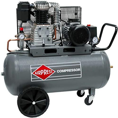 BRSF33® Impresión Compresor De Aire HK 425-902,2kW, Max. 10bar, 90litros caldera Conector...