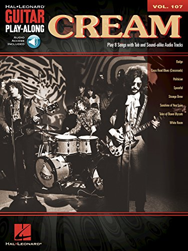 Cream Songbook: Guitar Play-Along Volume 107 (English Edition) PDF Books