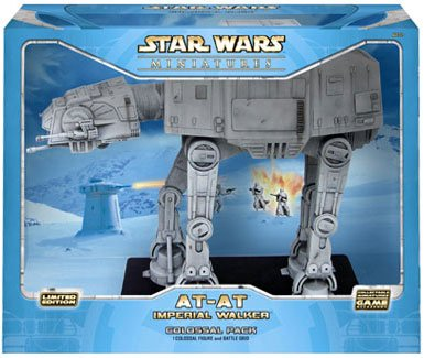 Star Wars Miniatures AT-AT Imperial Walker Colossal Pack [Toy]