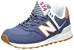 New Balance Women's Wl574v2 Yatch Pack Trainers, Blue (Blue), 5.5 Uk 38 Eu